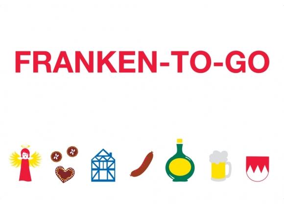 Postkarte: Franken-to-go