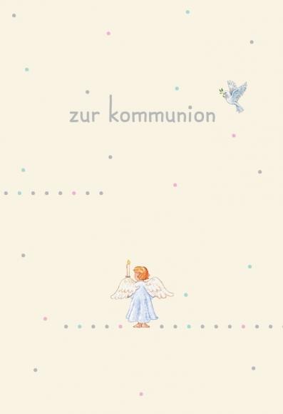 Doppelkarte: Zur Kommunion