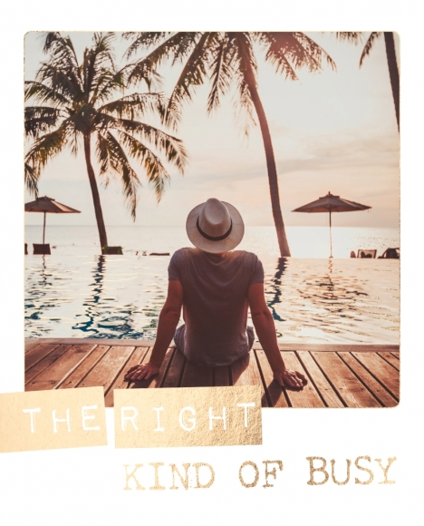 Postkarte: The right kind of busy