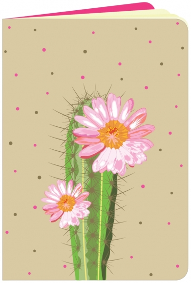 Heft flowerpower Kaktus
