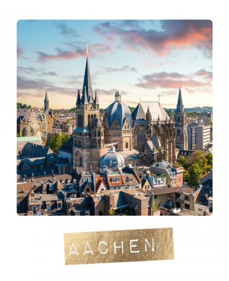 Postkarte: Aachen
