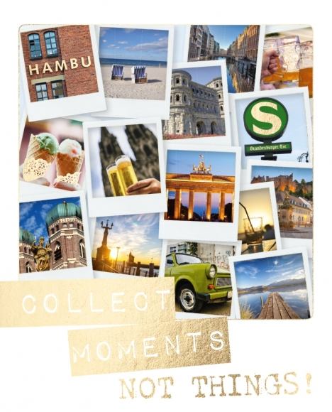 Postkarte: Collect moments, not things - Bilder