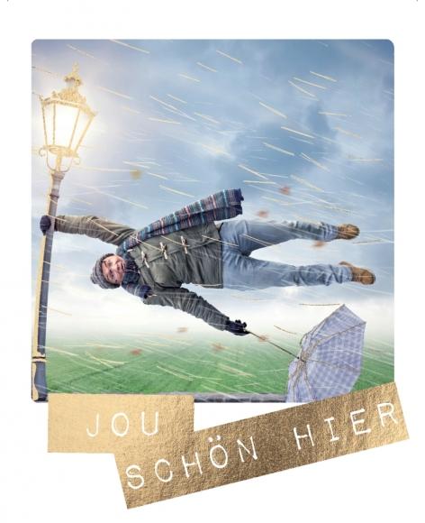 Postkarte: Jou schön hier