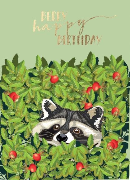Postkarte: Berry Happy Birthday