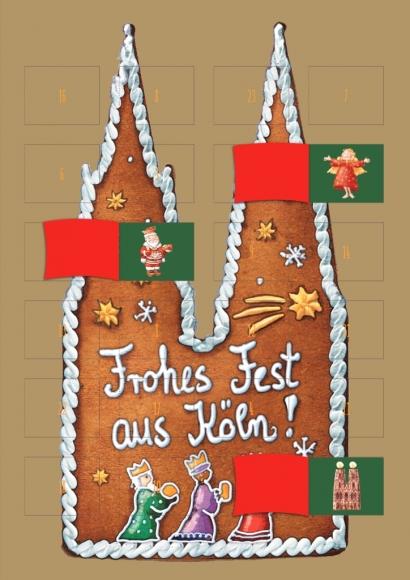 Adventskalender: Kölner Dom