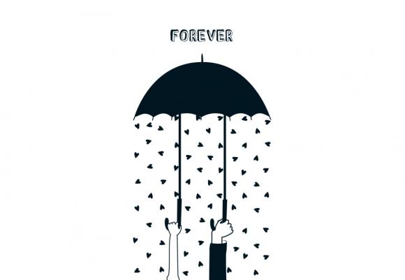 Doppelkarte: Forever!
