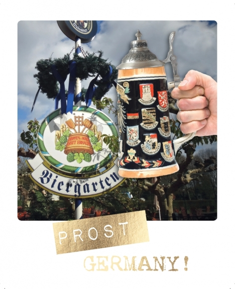 Postkarte: Prost Germany
