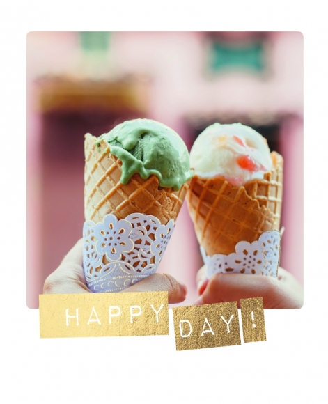 Postkarte: Happy Day!