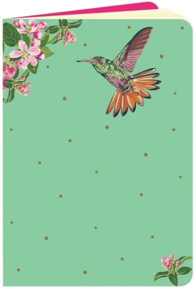 Heft flowerpower Kolibri