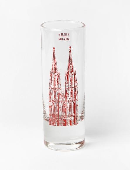 Stamper Kölner Dom rot