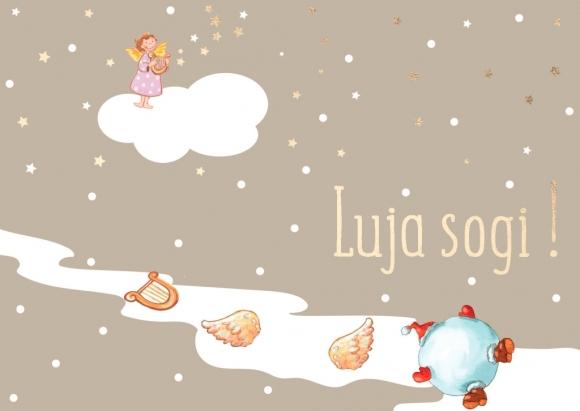 Postkarte: Luja sogi!
