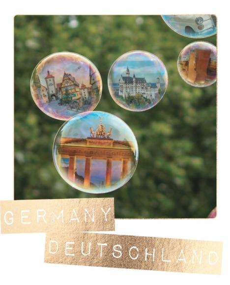Postkarte: Germany, Deutschland